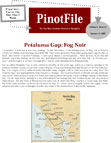 The Pino File Newsletter for wine conisours